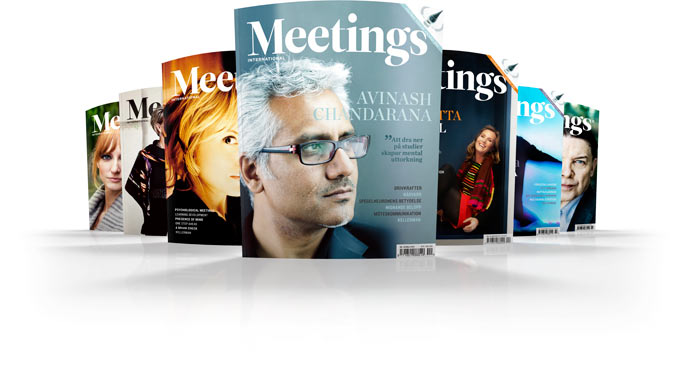 Meetings International magazine covers